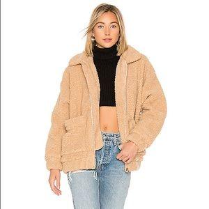 I Am Gia Camel / Tan Wool Coat / Jacket